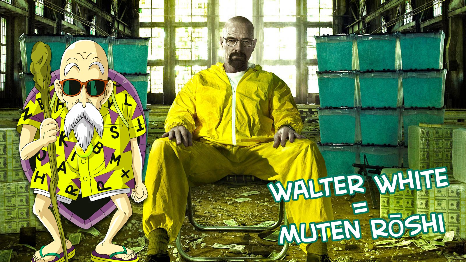 Walter White and Muten Roshi